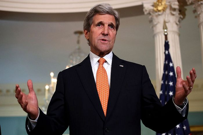 Глава госдепартамента США Джон Керри. Фото: Win McNamee/Getty Images