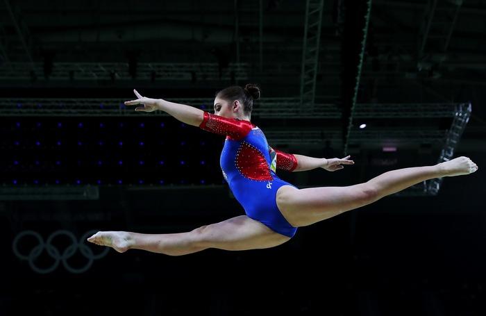 Российская гимнастка Алия Мустафина. Фото: Tom Pennington/Getty Images