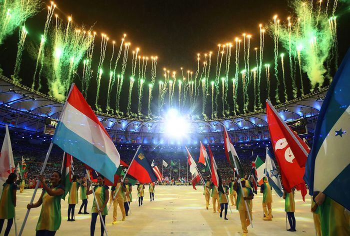 Церемония закрытия Олимпийских игр в Рио-де-Жанейро, 21 августа, 2016 год. Фото:  Cameron Spencer/Getty Images)