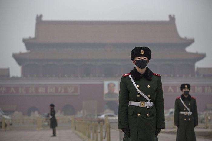 Китай, смог, воздух, окружающая среда