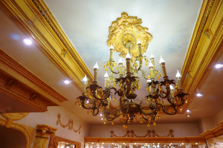 В Янтарной комнате. Фото: Ульяна Ким/Великая Эпоха