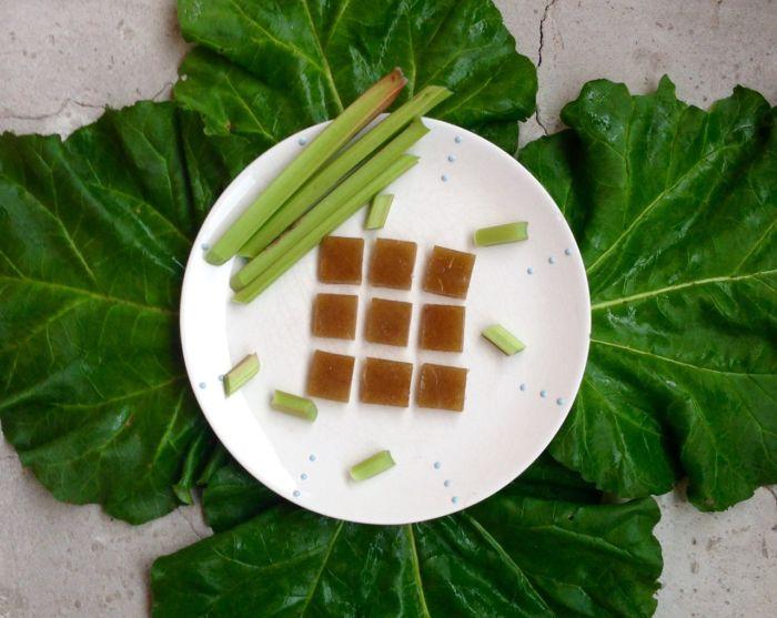 Мармелад с ревенем. Фото предоставлено фабрикой «Сёстры Грин»