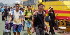 Китай и Тайвань ожидают прихода супертайфуна «Меранти»