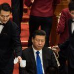 Председатель КНР Си Цзиньпин на открытии сессии четвёртой сессии 12-го Национального комитета Китайской народной политической консультативной конференции в Большом зале народных собраний в Пекине, 3 марта 2016 года. Фото: JOHANNES EISELE/AFP/Getty Images
