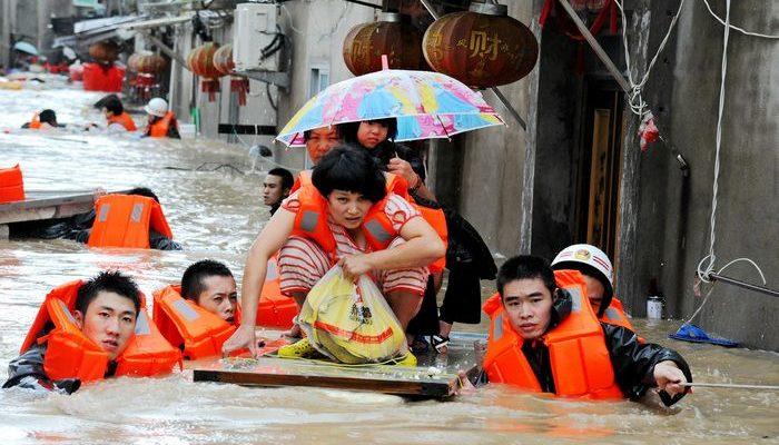 Тайфун «Меги» прошёл по пяти китайским провинциям (видео)