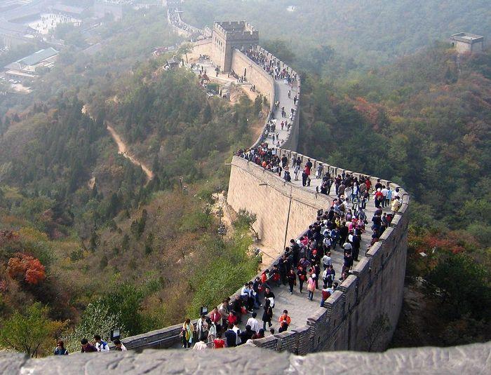 Великая китайская стена. Фото: Josep Renalias/commons.wikimedia.org/CC BY-SA 3.0