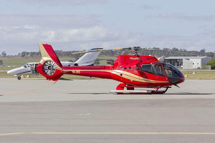 Вертолёт  Eurocopter EC130 T2. Фото: Bidgee /commons.wikimedia.org/CC BY-SA 3.0 AU