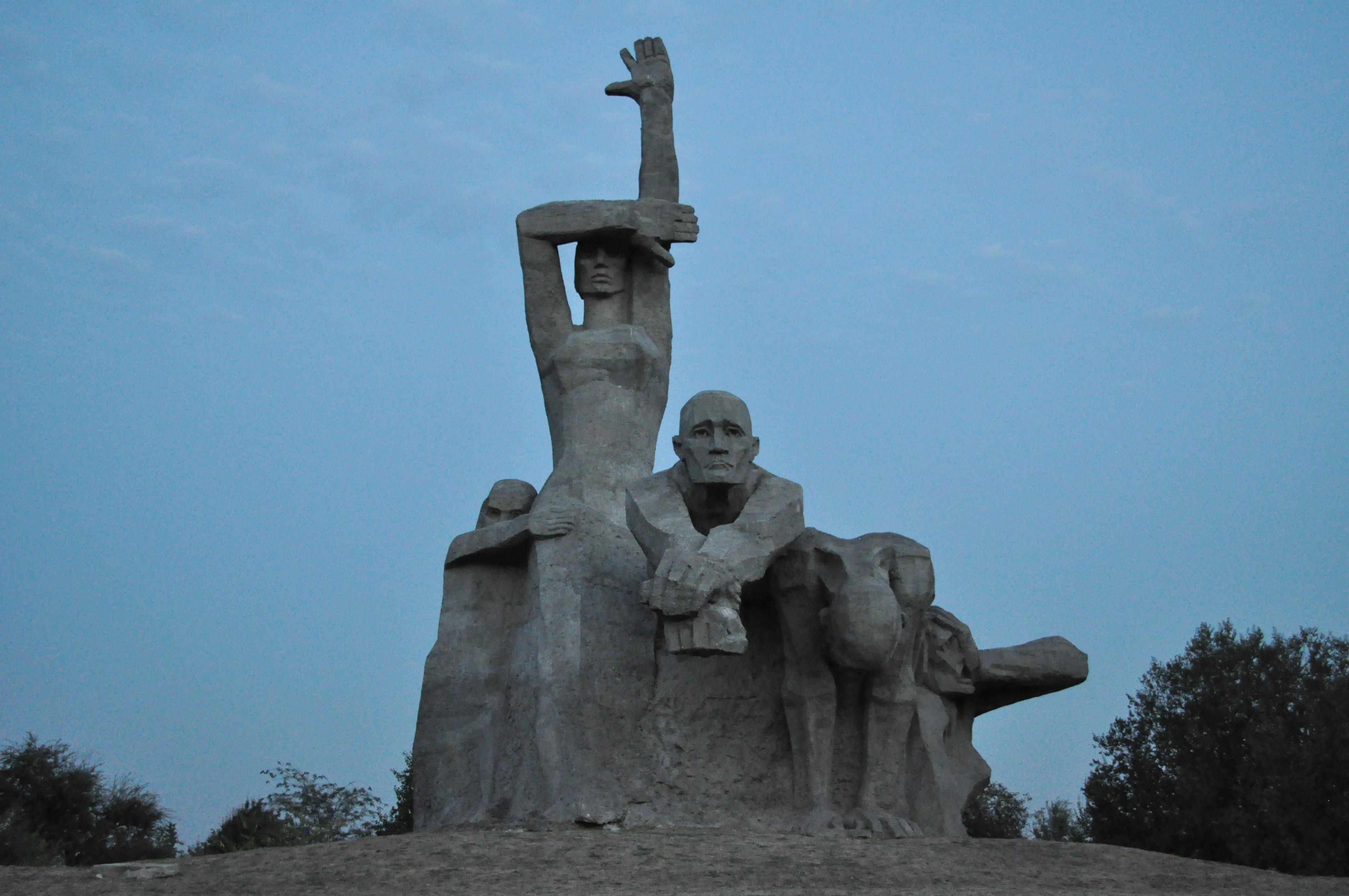 Памятник в Змиевской балке, Ростов-на-Дону. Фото: Пономарева/ru.wikipedia.org/CC BY-SA 3.0