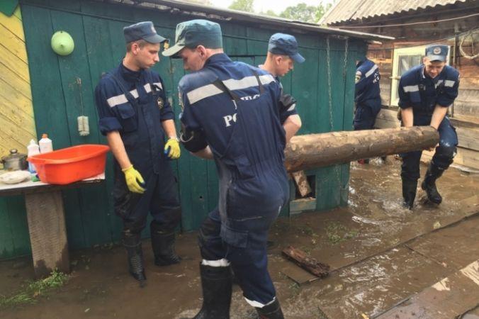 Наводнение в Приморском крае. Фото: 25.mchs.gov.ru