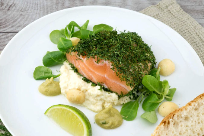 рыба, блюдо