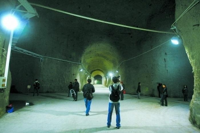 Туннели подземного ядерного завода 816. Фото: baidu.com