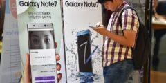 Компания Samsung призвала выключить взрывоопасные смартфоны Galaxy Note 7