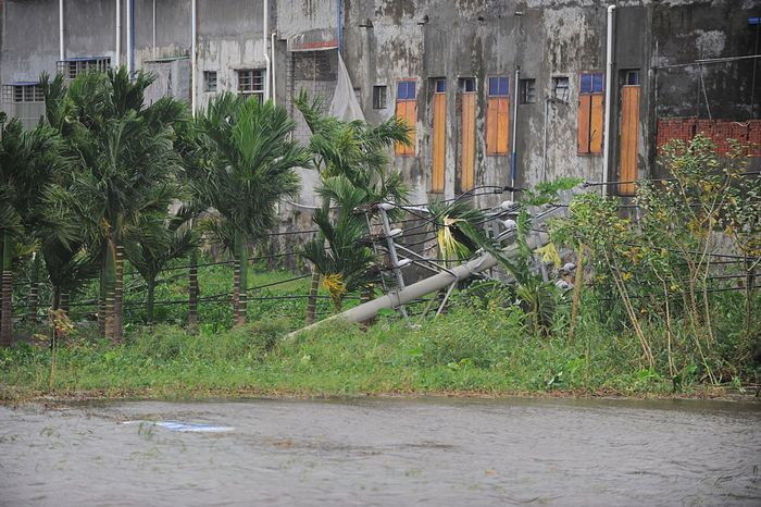 Остров Хайнань после тайфуна «Сарика». Фото: Yuan Chen/VCG via Getty Images