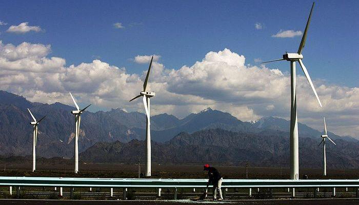 Ветроэнергетика в Китае. Создано крупнейшее в мире ветряное колесо