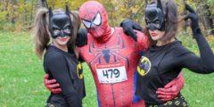 Супергерои посоревновались в скорости в Сокольниках