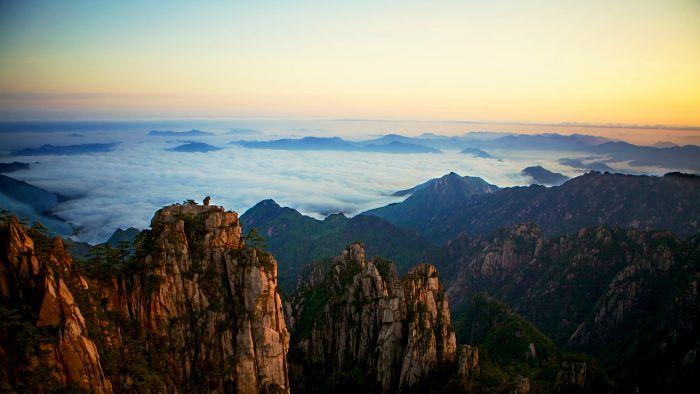горы, Китай