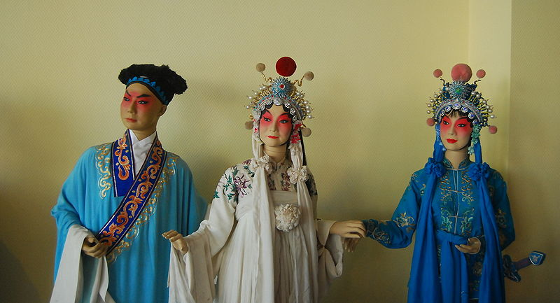 Пекинская опера «Белая женщина-змея». Фото: Wikipedia
