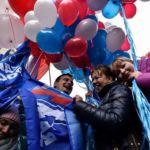 День народного единства в России, 4 ноября, 2015 год, Москва. Фото: KIRILL KUDRYAVTSEV/AFP/Getty Images