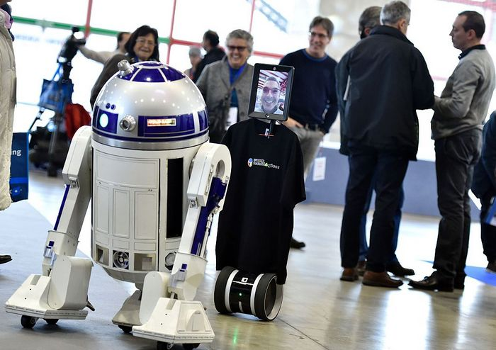 Робот R2-D2. Фото: GERARD JULIEN/AFP/Getty Images