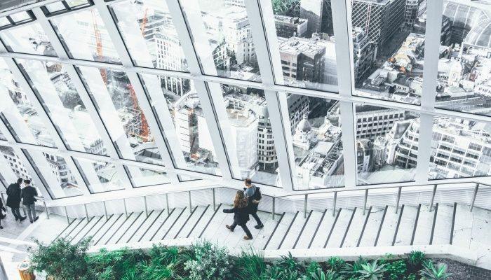 ПВХ-окна — часть современных архитектурных сооружений