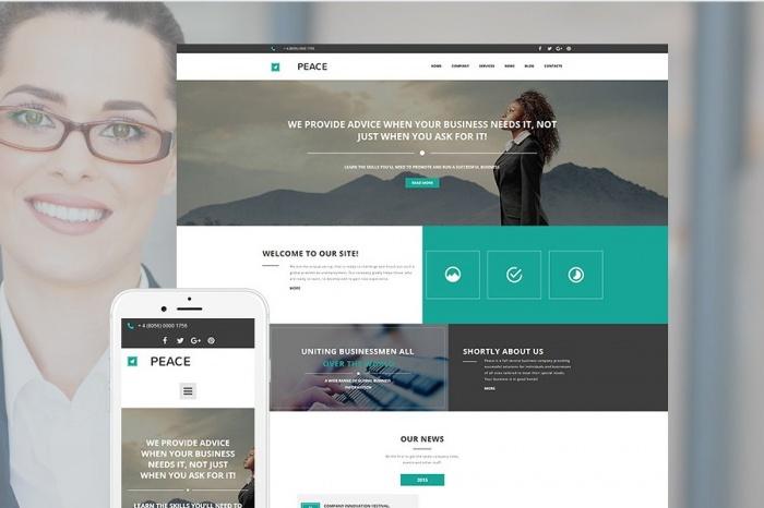 Скриншот: предоставлен сайтом templatemonster.com
