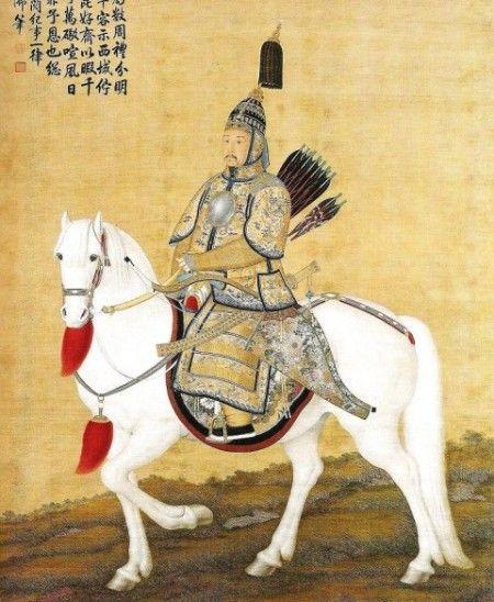 Император Канси в доспехах. (Wikimedia Commons)