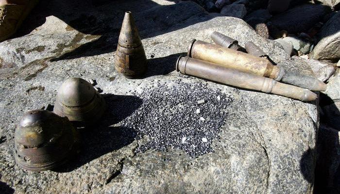 Китаец 25 лет колол орехи ручной боевой гранатой
