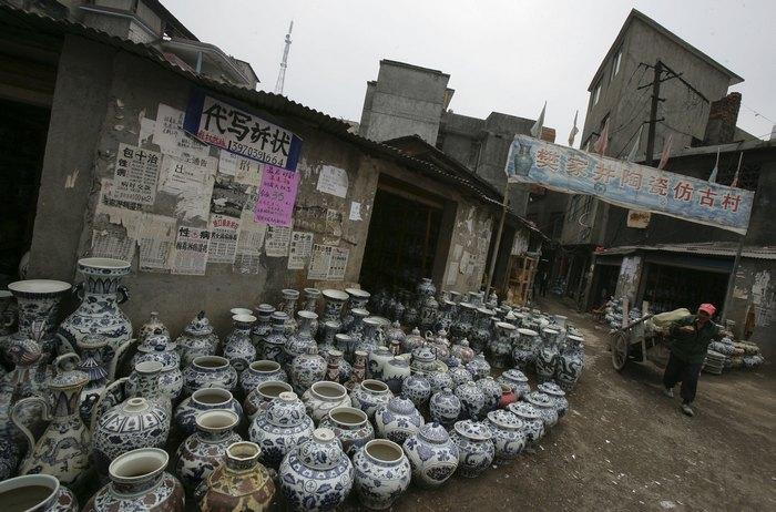 Китайские керамические изделия. Фото: China Photos/Getty Images