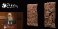 На 4000-летней глиняной табличке написано, что Ноев ковчег был круглым!