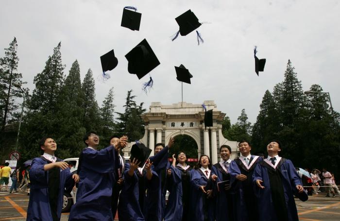 университет, студенты, китай, цинхуа