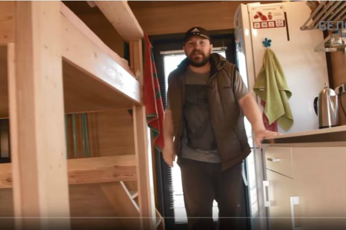 оскирко, дома, кухня, семья