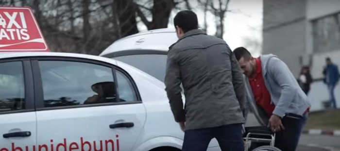 парень, такси, проект