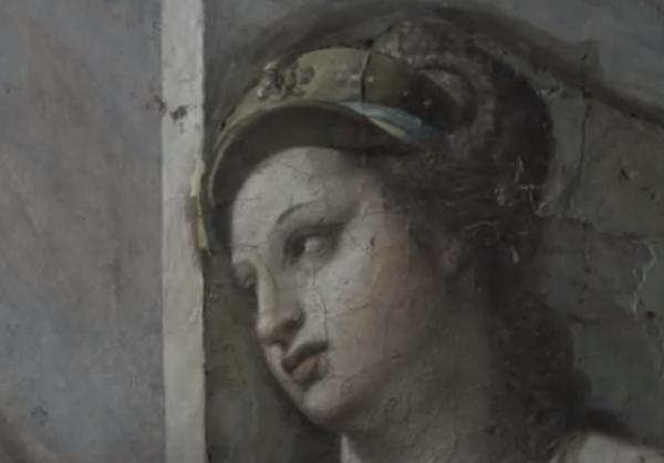 реставратор, картины, рафаэль