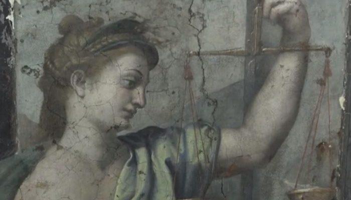 2 утерянные картины Рафаэля обнаружили реставраторы в музее Ватикана