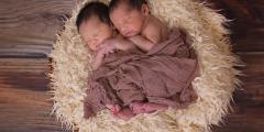 Родились самые маленькие близнецы в мире! Их общий вес 1300 грамм