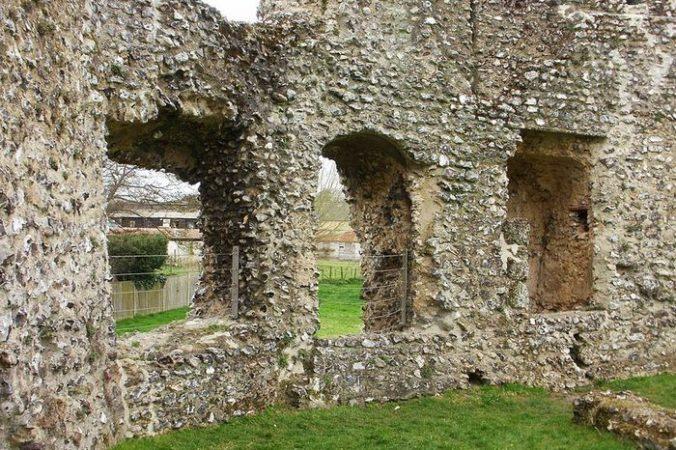 эйнсфорд, история, замок