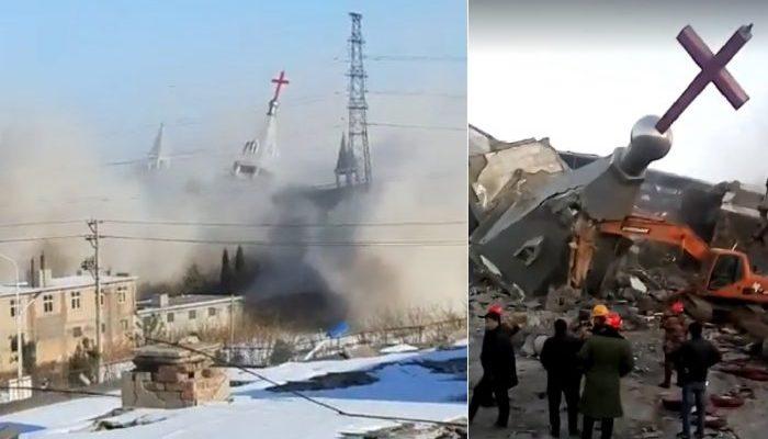 Христиане скорбят по крупнейшей «нелегальной» церкви, разрушенной китайскими властями