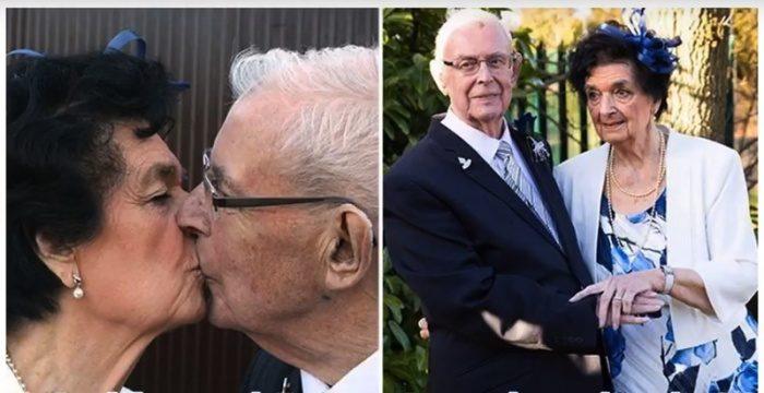 89-летние пенсионеры встретились на похоронах и… сыграли свадьбу