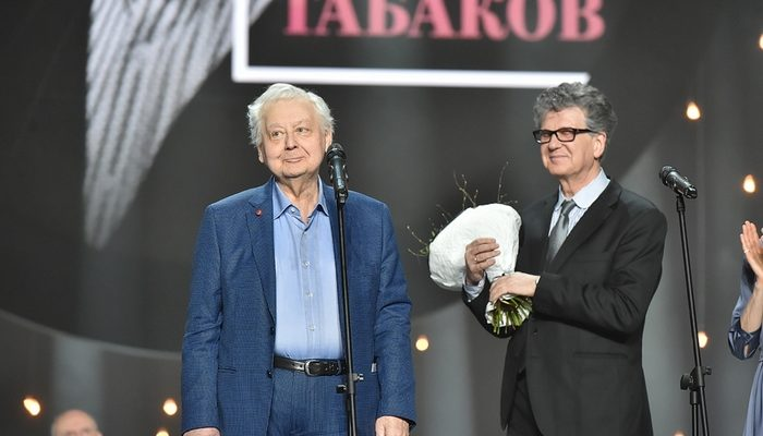 Олег Табаков: Не надо бояться быть глупым, смешным, нелепым