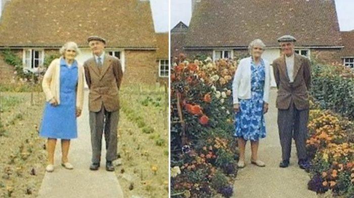 Фотоистория пожилой семейной пары наполнена любовью. Последний кадр полон печали