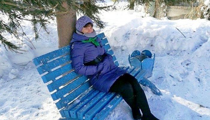 Сибирские врачи изготавливают… скамейки! А знаете из чего?