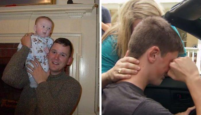 Подросток мечтал ездить на машине отца, которого потерял во младенчестве. И мама отыскала автомобиль, проданный более 10 лет назад!