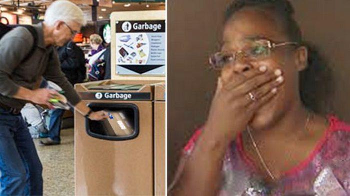 Дедушка заплакал и выкинул неправильно упакованную игрушку в аэропорту. Наблюдательная девушка решила вернуть её владельцу!