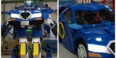 (Видео) Японский робот за минуту превращается в автомобиль. Эра трансформеров наступила!
