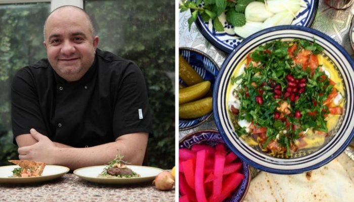 Спасаясь от сирийской войны, он осел в Англии и открыл ресторан. Теперь повар помогает семьям, оставшимся на родине