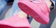 Подошвы этих кроссовок сделаны из жвачки, которую соскребли с асфальта. Разве не круто?!