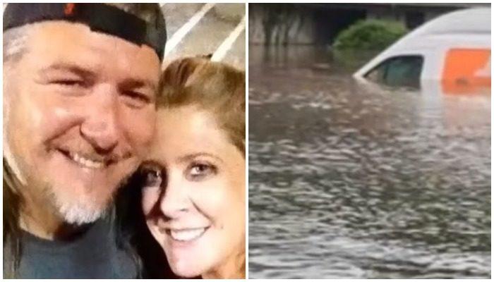 Дом семьи затопило на 2 метра во время урагана. В кафе они поделились горем с официанткой и та решила дать им денег!