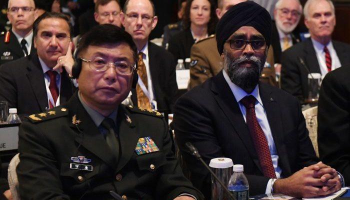 Генерал китайской армии на международном саммите по безопасности выразил сожаление, что не сражался на войне