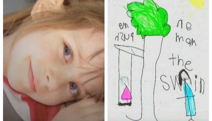 После смерти 5-летней дочери родители стали находить её записки. Девочка написала множество посланий и спрятала их в доме