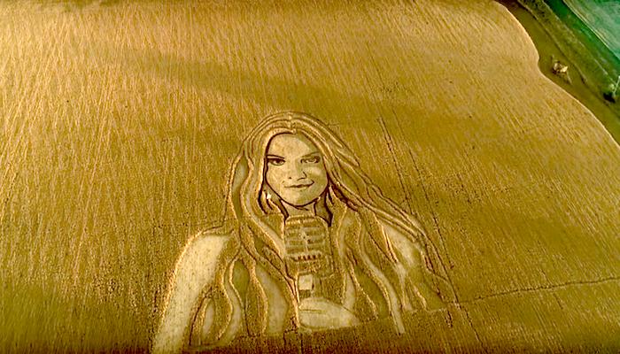 67-летний художник создаёт потрясающие картины на полях